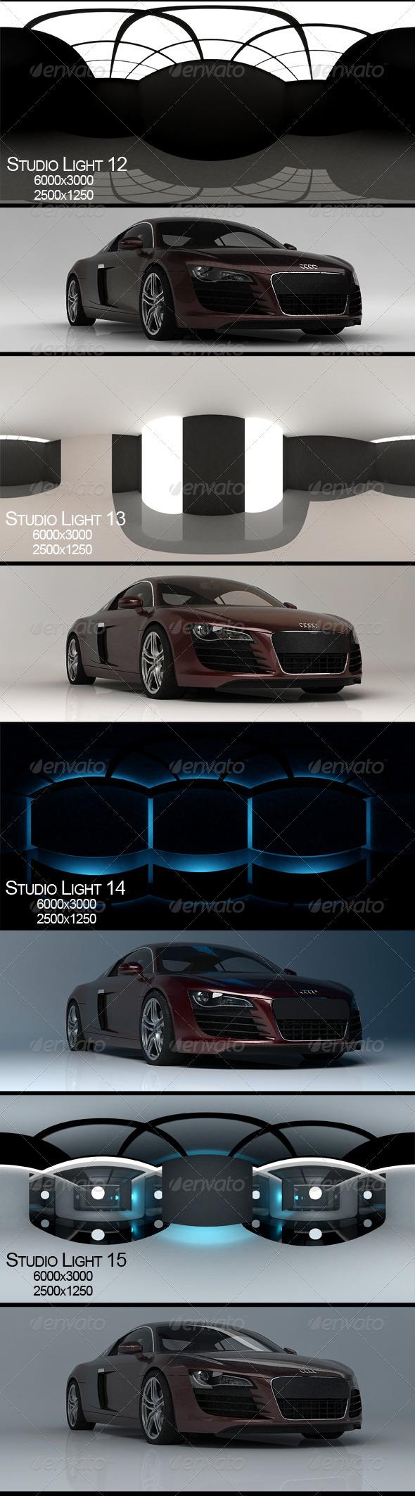 Studio Light 4 - 3DOcean Item for Sale