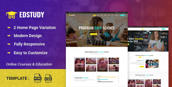 Special Edstudy - Education LMS and Courses HTML5 Template