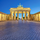 The illuminated Brandenburg Gate in Berlin - PhotoDune Item for Sale