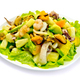Salad seafood and avocado in plate - PhotoDune Item for Sale