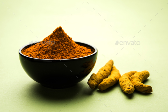 Turmeric Powder - Stock Photo - Images