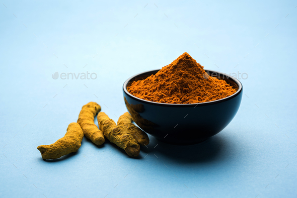 Turmeric Powder - Stock Photo - Images