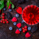 Drink Summer from Mix Berries .Detox diet food concept. - PhotoDune Item for Sale