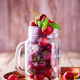 Fresh Strawberries in a glass Jar .Food or Healthy diet concept. - PhotoDune Item for Sale