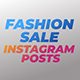 Fashion Sale Instagram Posts - VideoHive Item for Sale