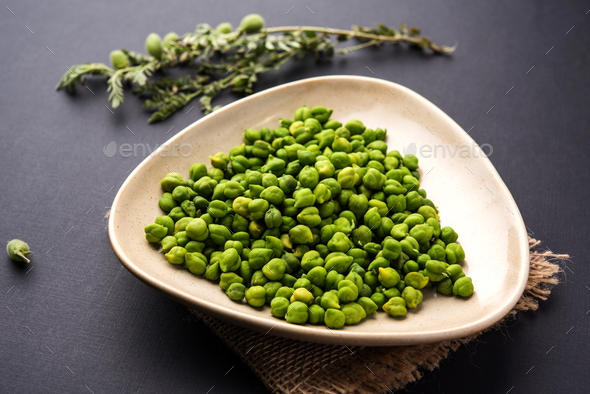 Fresh Green Chickpeas - Stock Photo - Images