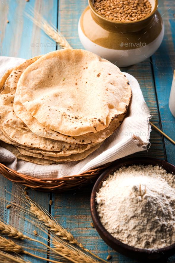 Chapati or Roti - Stock Photo - Images
