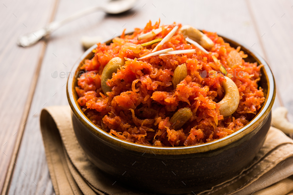 Gajar Halwa - Stock Photo - Images