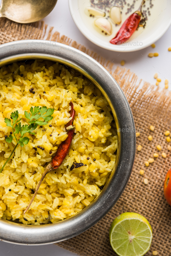 Dal Khichadi - Stock Photo - Images