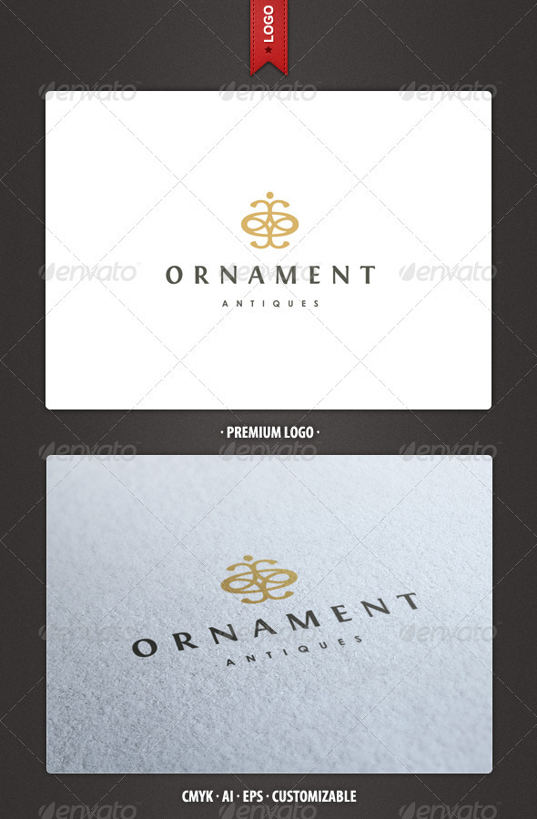 Ornament - Abstract and Crest Logo Template - Crests Logo Templates