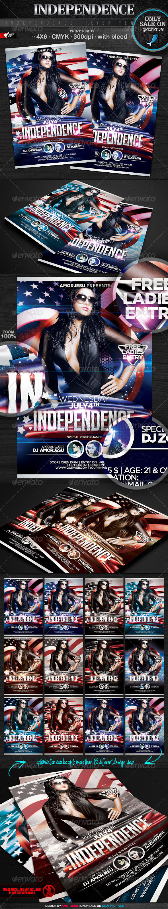 Independence Flyer Template - Events Flyers