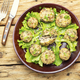Mushrooms stuffed with minced meat. - PhotoDune Item for Sale