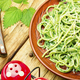Pasta with herbal sauce. - PhotoDune Item for Sale