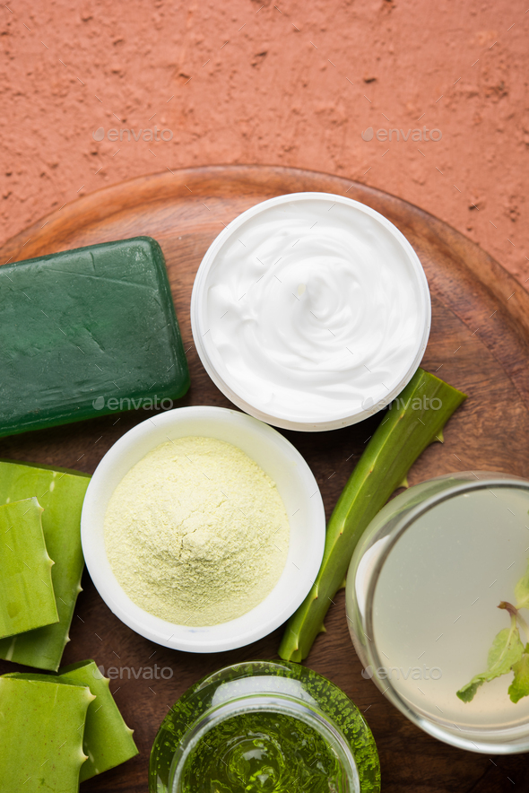 Aloe Vera Products - Stock Photo - Images