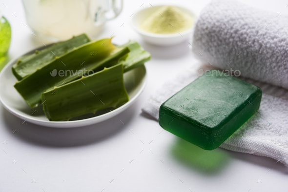 Aloe Vera Products - Stock Photo - Images
