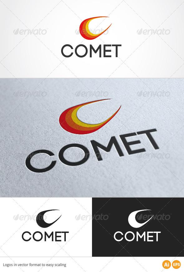 Comet Logo - Symbols Logo Templates