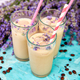 Summer drink iced coffee with lavender in glass - PhotoDune Item for Sale