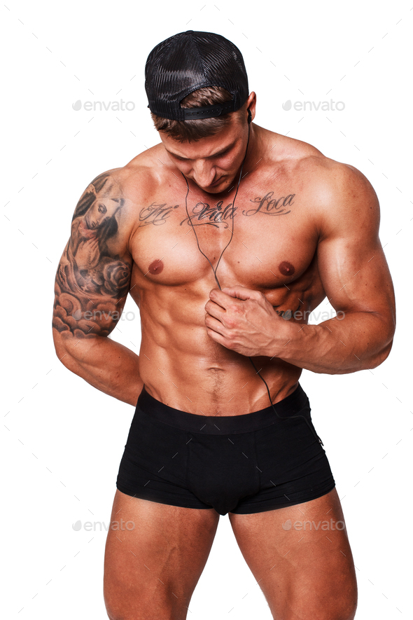 Awesome man with tattooes - Stock Photo - Images