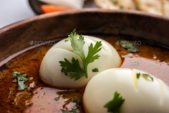 Egg Curry - Stock Photo - Images
