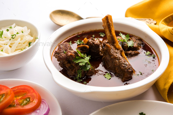 Mutton Curry - Stock Photo - Images