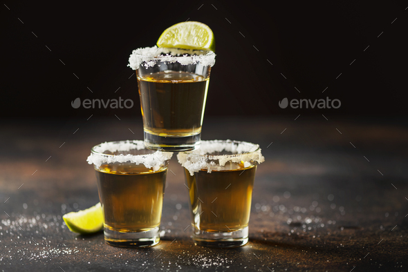 Tequila shots - Stock Photo - Images