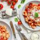 South italian  pasta orecchiette with tomato sauce and cacioricotta cheese - PhotoDune Item for Sale
