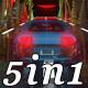 Space Car - Vj Loop Pack (5in1) - VideoHive Item for Sale