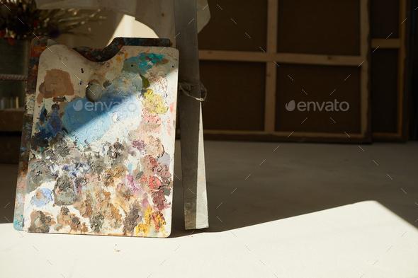 Sunlit Artists Workshop - Stock Photo - Images