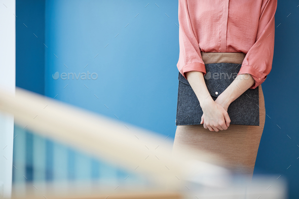 Elegant Businesswoman with Copy Space - Stock Photo - Images