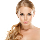 Blonde woman with beautiful long hair natural make up - PhotoDune Item for Sale