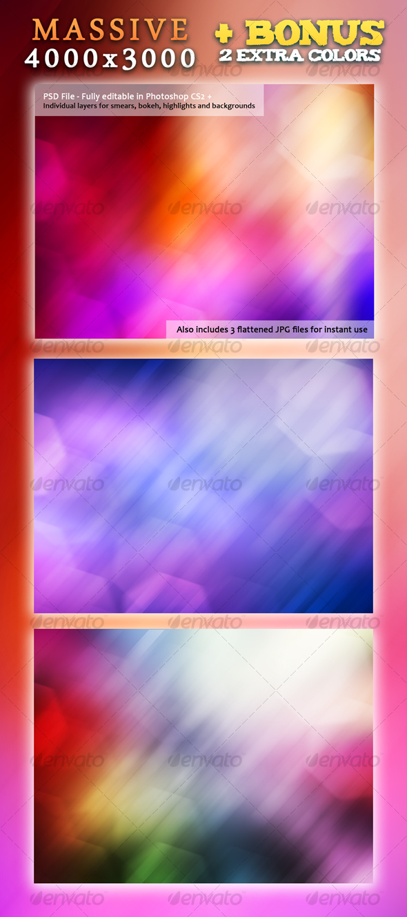 Color Explosion - Backgrounds Graphics