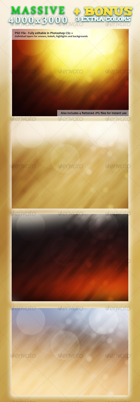 Desert Delusion - Backgrounds Graphics