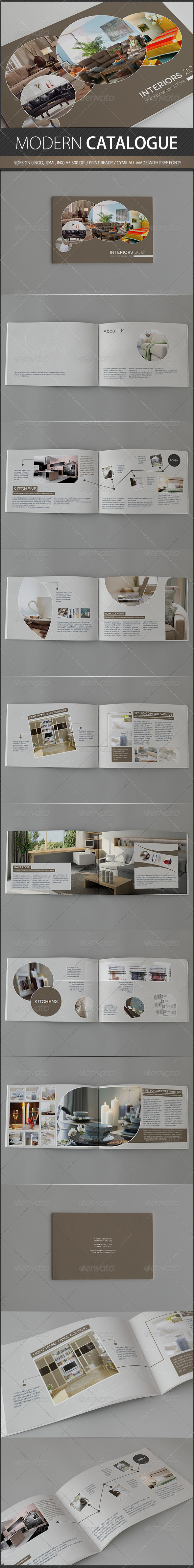 Modern Catalogue - Catalogs Brochures