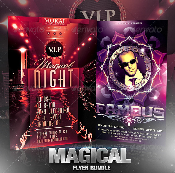 Magical Flyer Bundle - Flyers Print Templates