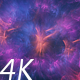 Travel Through Abstract Bright Blue and Purple Space Nebula - VideoHive Item for Sale