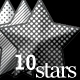 Opaque Stars With 10 Patterns and 3 styles - GraphicRiver Item for Sale