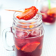 Cold sangria or punch with fruits - PhotoDune Item for Sale