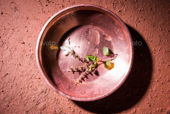 Hindu Pooja Accessories - Stock Photo - Images