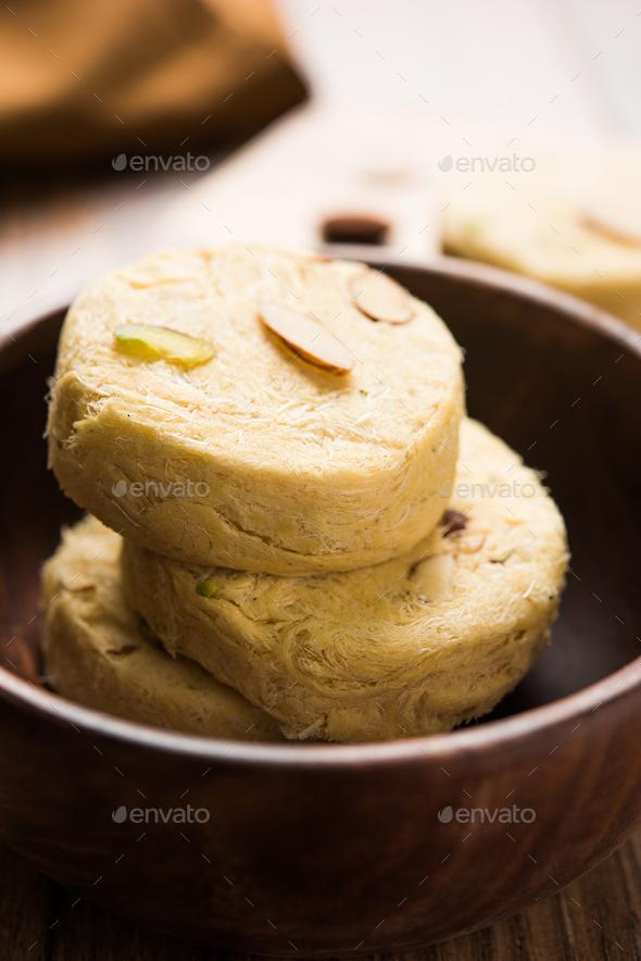 Soan Papdi or Patisa - Stock Photo - Images
