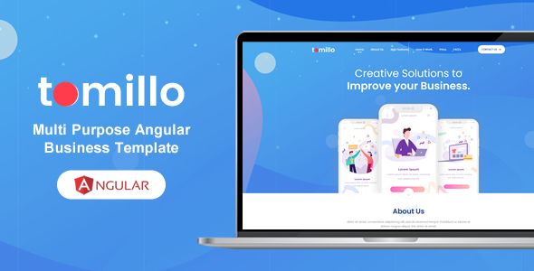 Special Tomillo - Bootstrap 4 Angular Multi Purpose Multi Pages Template