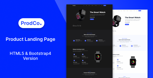 Prodco | Product Landing Page Template