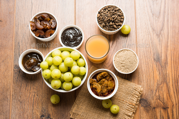 Amla or Indian Gooseberry - Stock Photo - Images