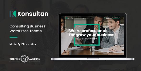 Konsultan | Consulting Business WordPress Theme