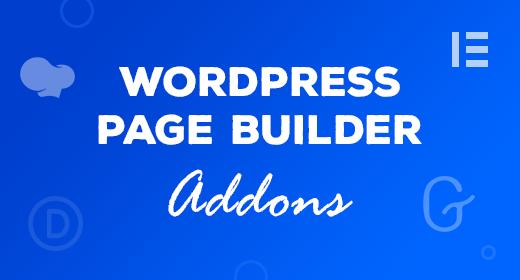 WordPress Page Builder AddOns