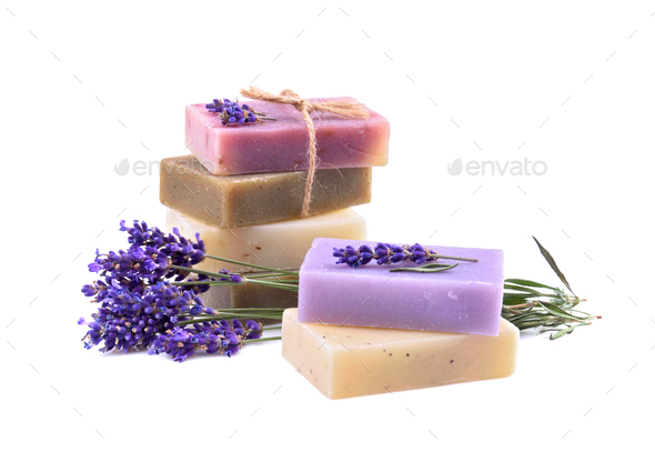 Fresh lavender flowers and Fresh lavender flowers - Stock Photo - Images