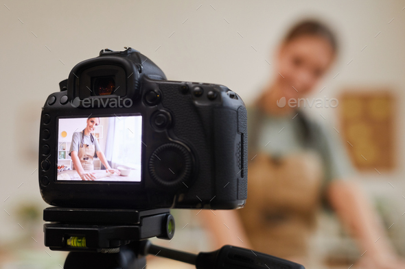 Video content for blog - Stock Photo - Images