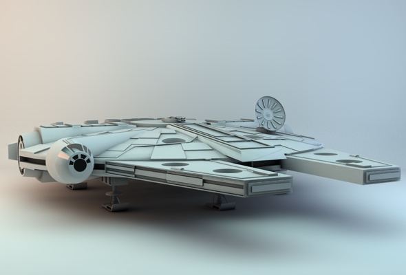 Millennium Falcon - 3DOcean Item for Sale