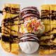 Top view Honey Toast ice cream - PhotoDune Item for Sale