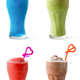 Multi juice fruit smoothie in a glass - PhotoDune Item for Sale