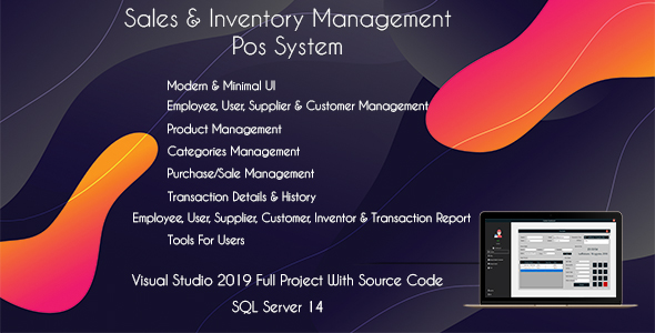 Fabulous Shop POS - Sales and Inventory Management (POS System)
